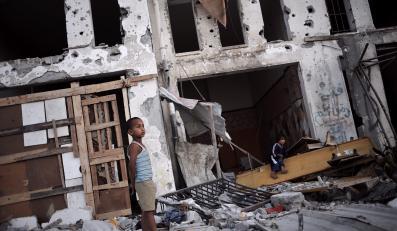 Dziecko w Gazie