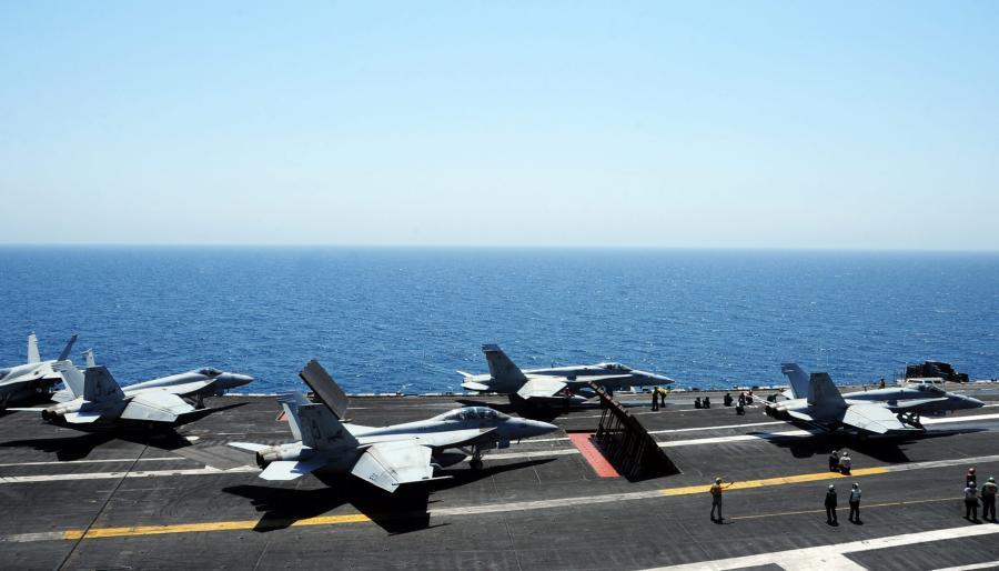 F-18 gotowe do ataku