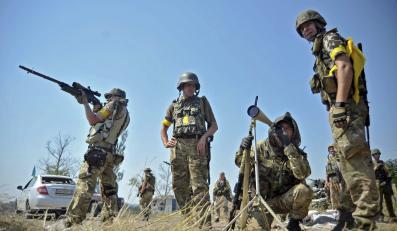 Żołnierze batalionu Donbas