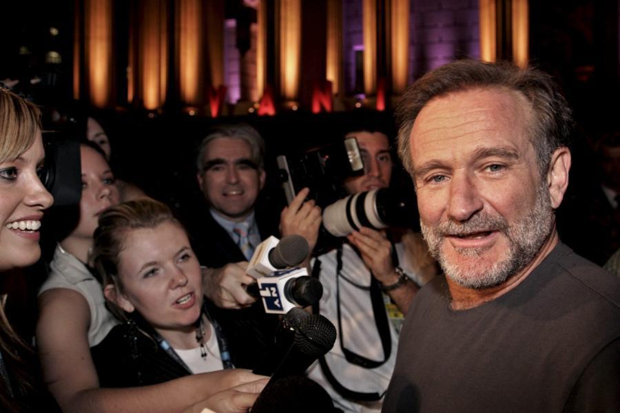 Robin Williams skończył \