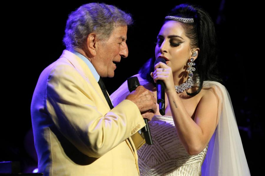 Lady GaGa i Tony Bennett w duecie na Grammy 2015