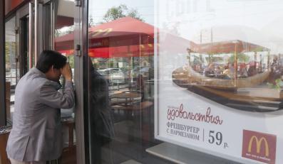 Zamknięty bar McDonald's