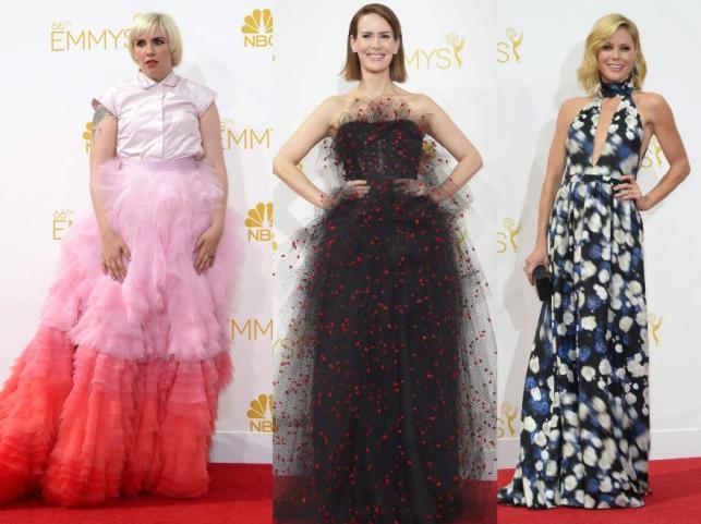 Lena Dunham, Sarah Paulson i Julie Bowen