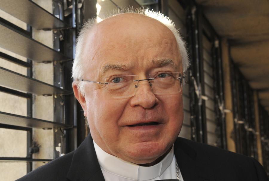Były arcybiskup Józef Wesołowski