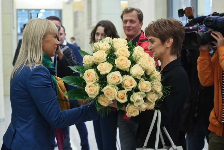 Elżbieta Bieńkowska i Maria Wasiak
