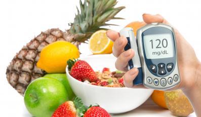 Owoce i glukometr