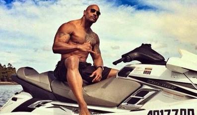 Dwayne Johnson na słonecznym patrolu