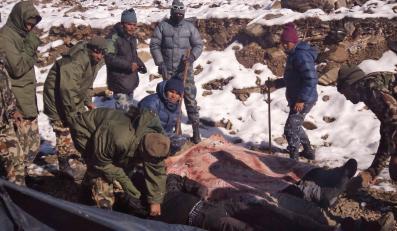 Akcja ratunkowa pod Annapurną