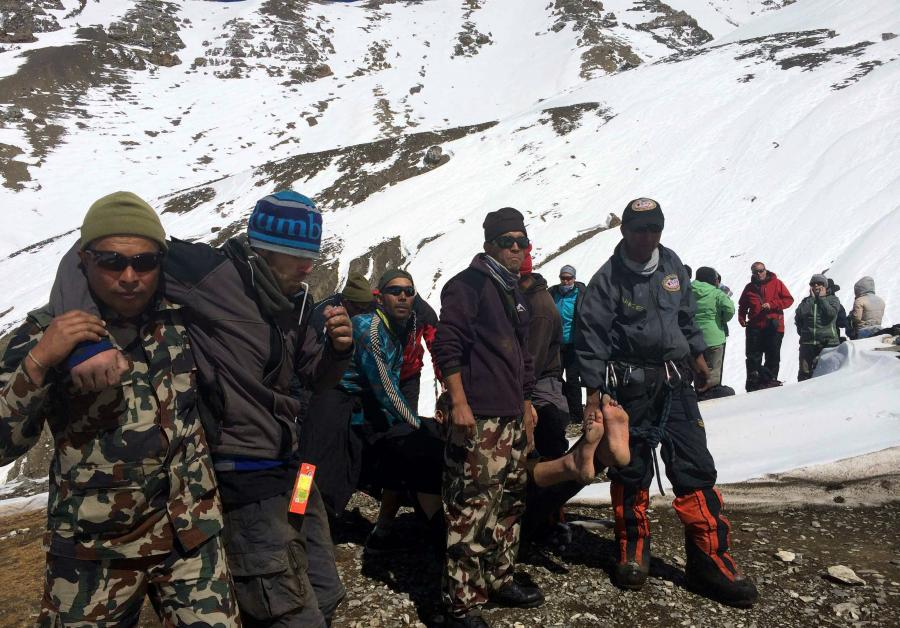 Akcja ratunkowa w Nepalu