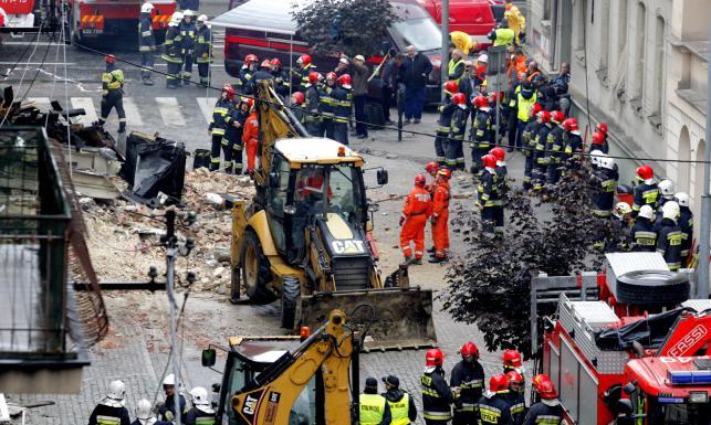 Wybuch gazu w Katowicach: Nie żyją 3 osoby poszukiwane pod gruzami
