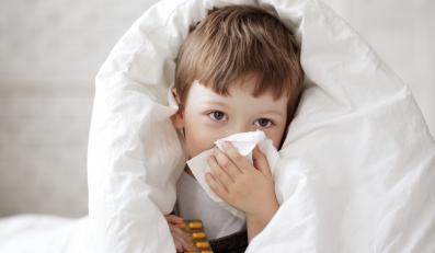 Przeziębione dziecko