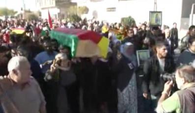 Pogrzeb 19-letniej Perwin Mustafa Dihap