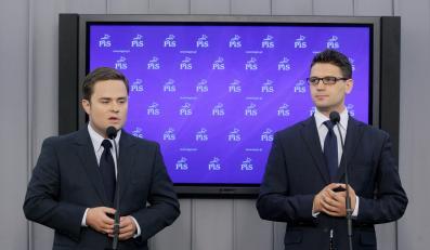 Adam Hofman i Mariusz A. Kamiński