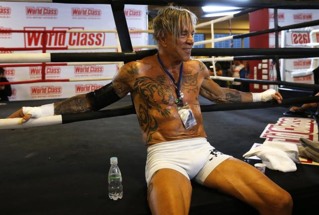 Mickey Rourke wraca na ring. 62-letni aktor stoczy w Moskwie walkę z Elliotem Seymourem