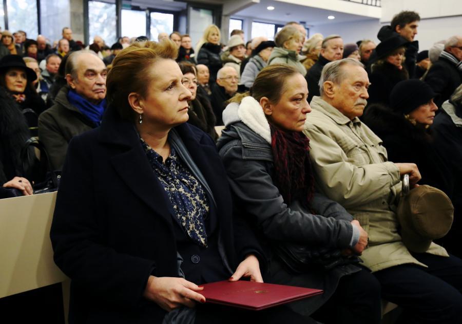 Małgorzata Omilanowska, Emil Karewicz i Ewa Wiśniewska