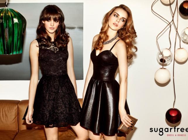 Sukienki na Sylwestra 2014 Sugarfree