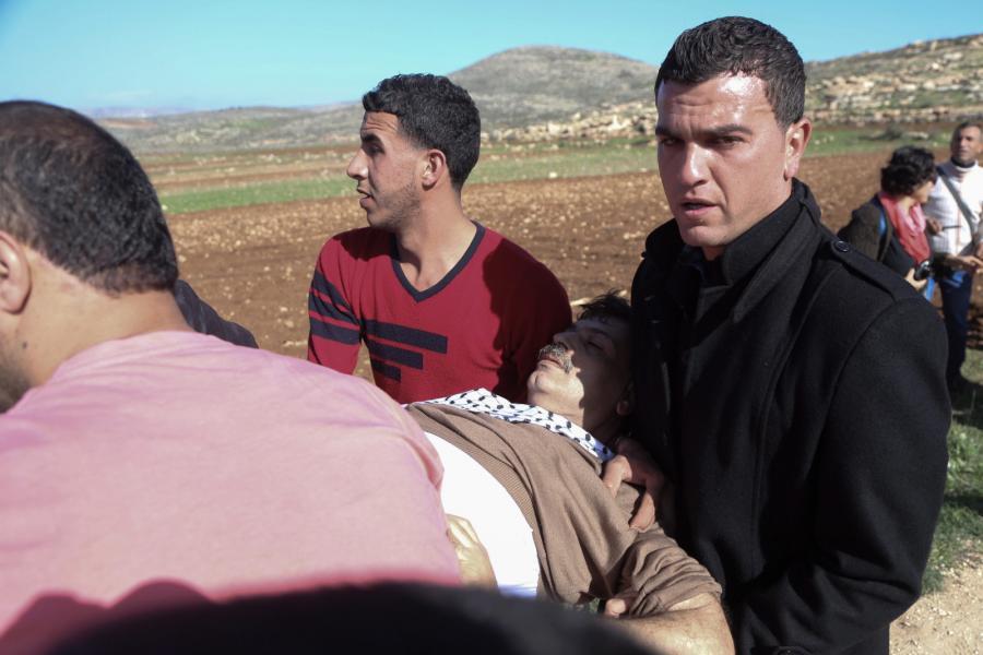 Śmierć Ziada Abu Eina