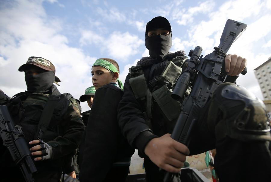 Bojownicy Hamasu