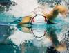 Aleksandra Urbańczyk na dystansie 100 metrów stylem dowolnym, podczas pływackiego Grand Prix Pucharu Polski w Łodzi