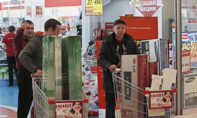 Panika w rosyjskich sklepach. \