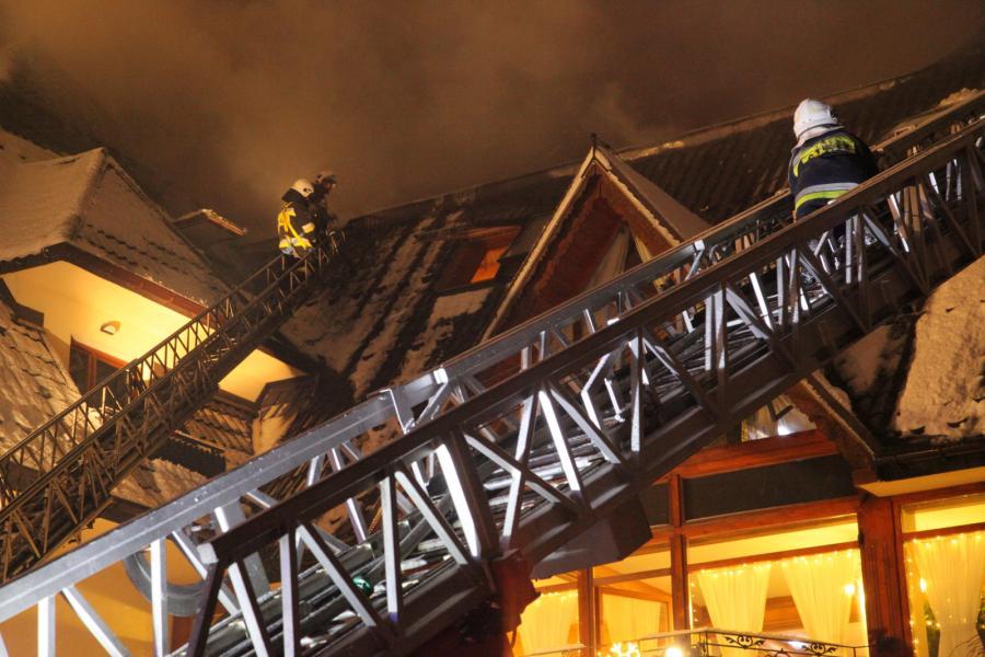 Pożar hotelu \