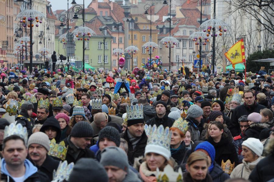 Orszak Trzech Króli w Warszawie w 2014 roku