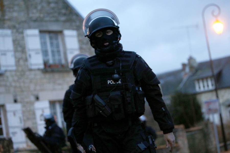 Francuscy antyterroryści