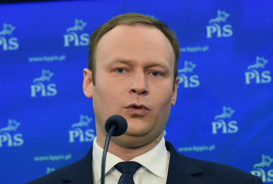 Rzecznik PiS Marcin Mastalerek