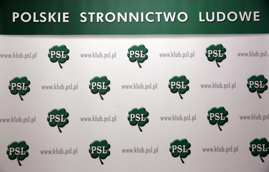 Tablica PSL w Sejmie