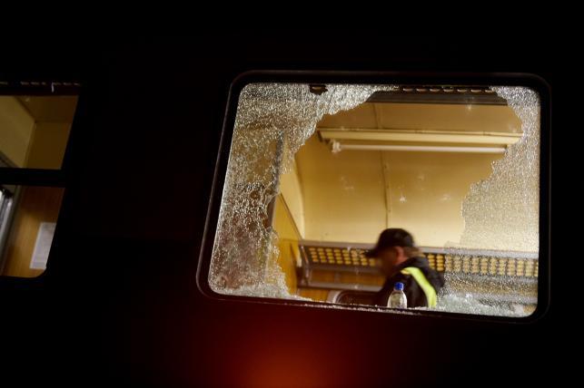 Atak kiboli na pociąg w Gdańsku