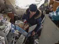 Bomby rujnują Donieck, dwa rosyjskie bataliony już na Ukrainie. ZDJĘCIA