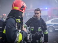 Zakościelny w roli strażaka w nowym serialu TVP [FOTO]