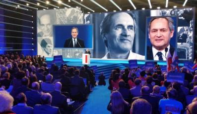 Jerzy Zelnik na konwencji PiS