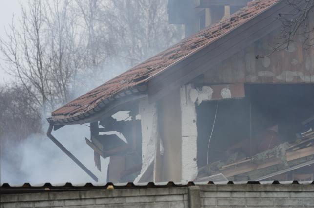 Wybuch pieca w domu jednorodzinnym w Poznaniu