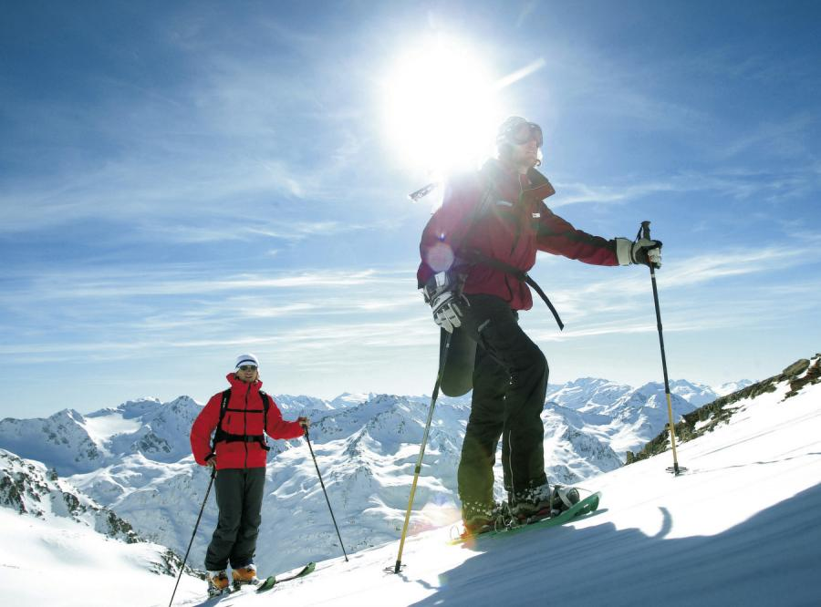 Alpy Stubaiskie: Największy ośrodek na lodowcu