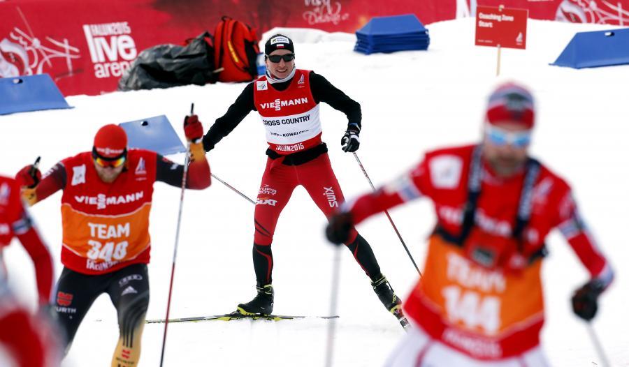 Justyna Kowalczyk podczas treningu w Falun. W szwedzkim mieście odbywają się mistrzostwa świata w narciarstwie klasycznym