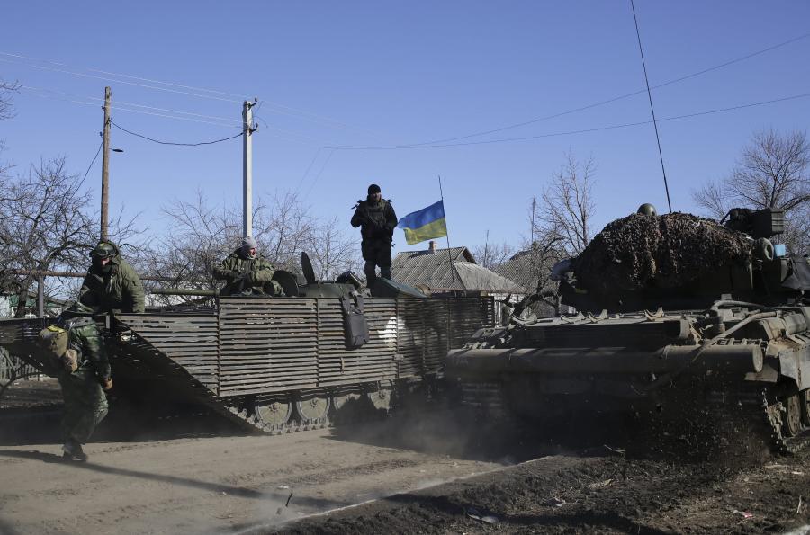 Ukraińskie transportery opancerzone