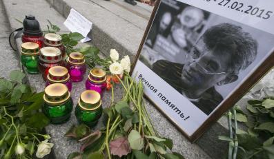 Kijów - Ukraińcy uczcili pamięć Borysa Niemcowa