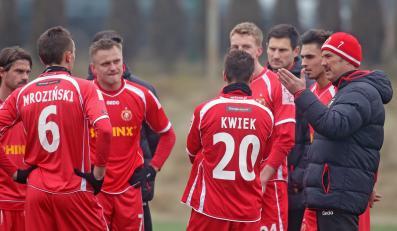 Piłkarze Widzewa Łódź