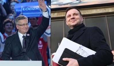 Bronisław Komorowski, Andrzej Duda