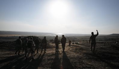 Ukraińskie wojska w Donbasie