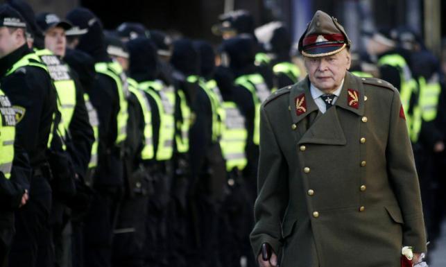 Weterani SS świętowali w stolicy Łotwy. ZOBACZ ZDJĘCIA