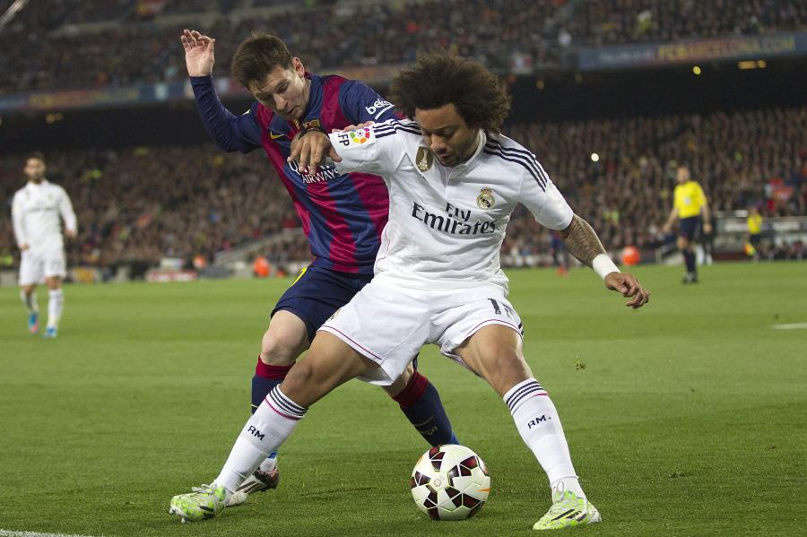 Lionel Messi i Marcelo