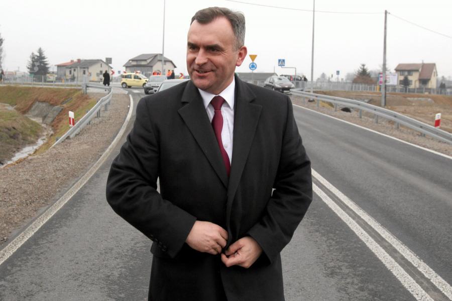Minister skarbu Włodzimierz Karpiński