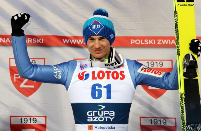 Tak Kamil Stoch pobił rekord na Wielkiej Krokwi i został mistrzem Polski