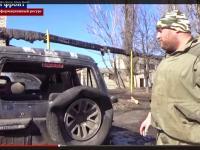Terenówka z Polski trafiła na wojnę na Ukrainę. Jak zdobyli ją separatyści? ZDJĘCIA i WIDEO