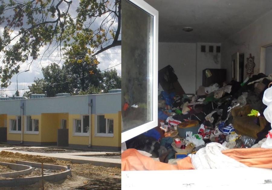 Mieszkania socjalne w Nowej Soli. Zdjęcie z profilu Wadima Tyszkiewicza na Facebooku
