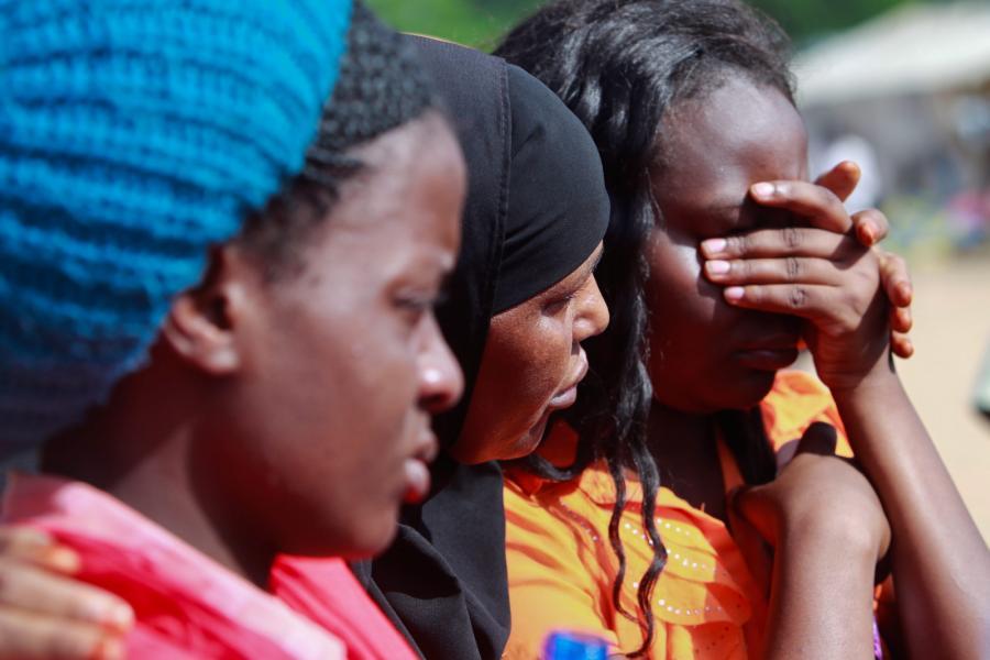 Studenci z zaatakowanego uniwersytetu