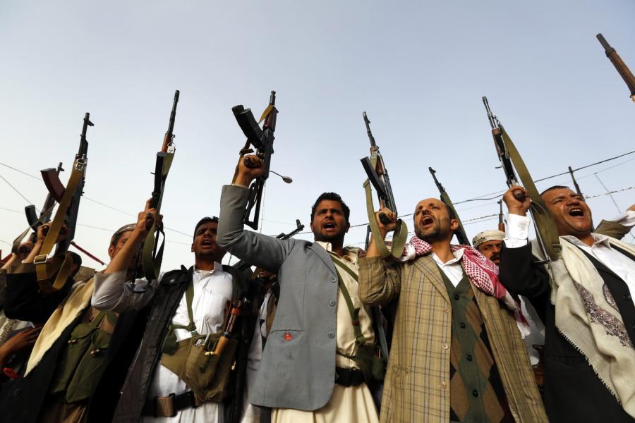 Rebelianci z ruchu Huti