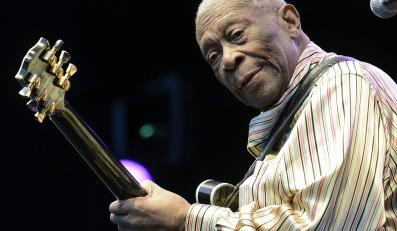 Król bluesowej gitary B.B. King